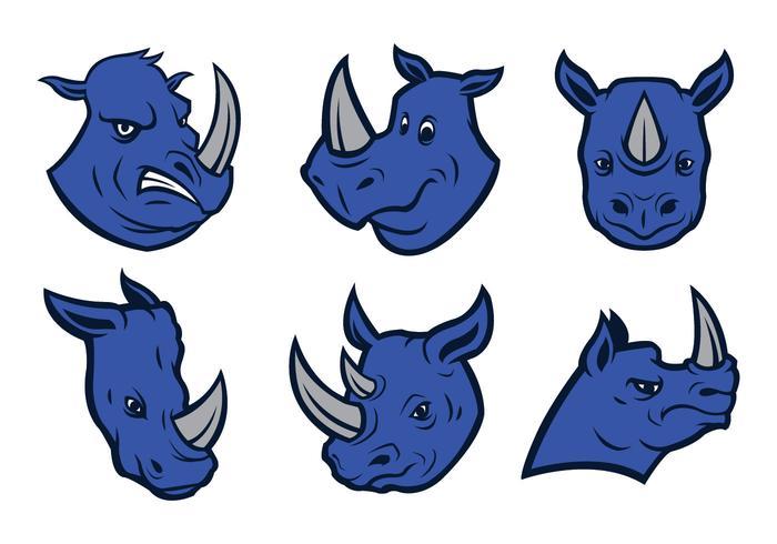 700x490 Free Rhino Logo Vector