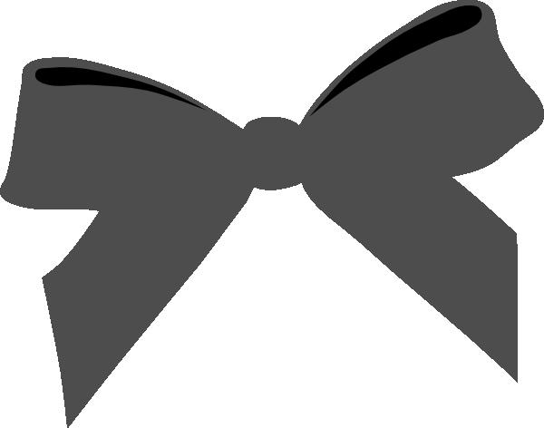 600x472 Blcok Ribbon Bow Clip Art