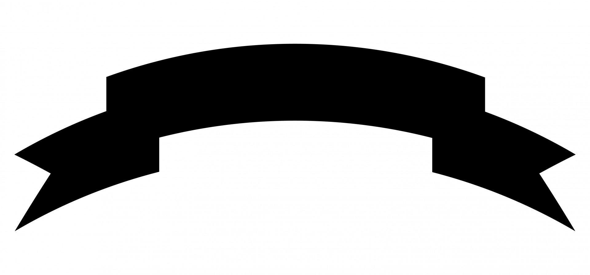 1920x896 Ribbon Banner Silhouette Free Design Templates