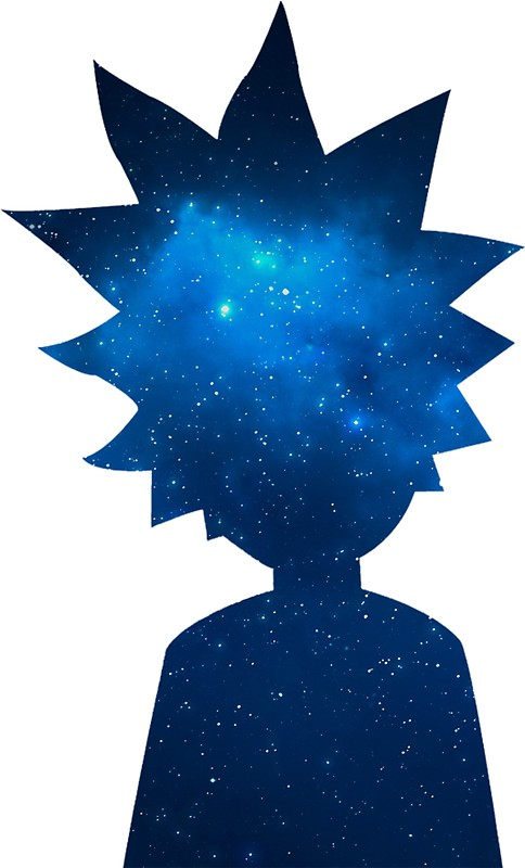 484x800 Rick And Morty Universe Silhouette Stickers By Pairofdocx Redbubble