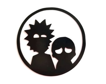 340x270 Rick And Morty Decal Etsy