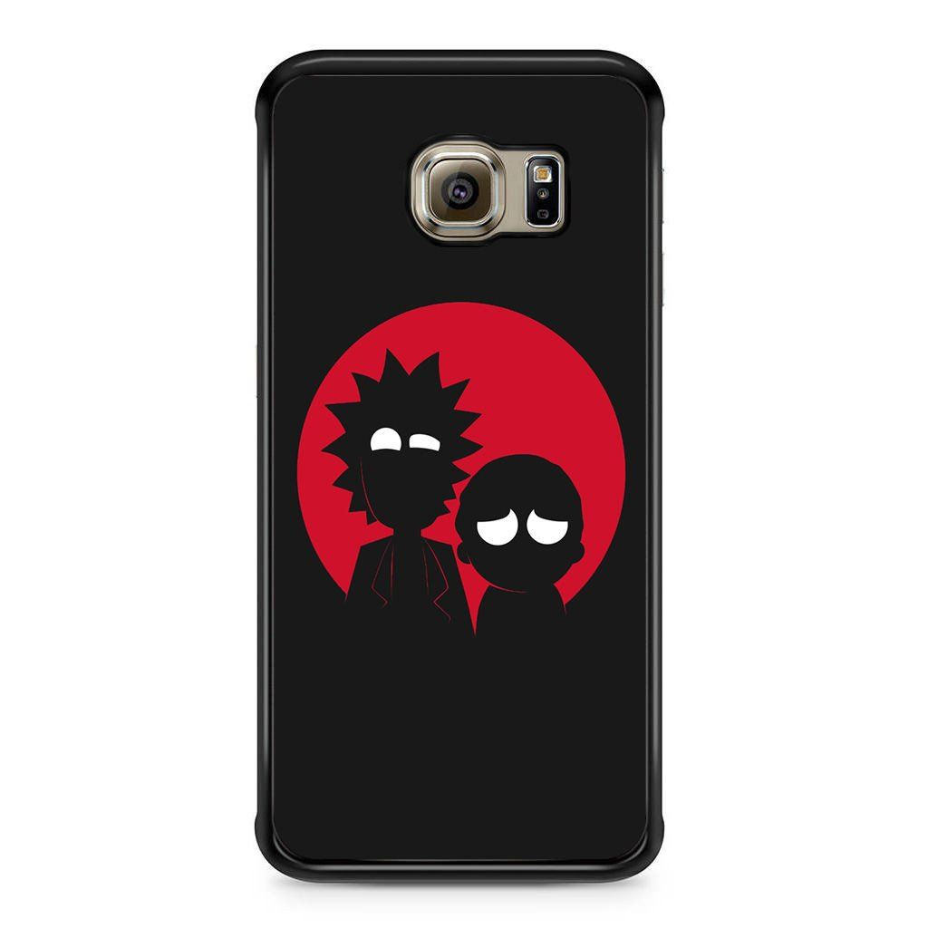 1024x1024 And Rick Silhouette For Samsung Galaxy S6 Edge Case