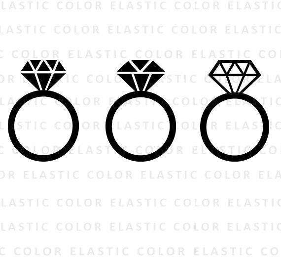 570x530 Diamond Ring Diamond Ring Monogram Frame Diamond Ring Icon