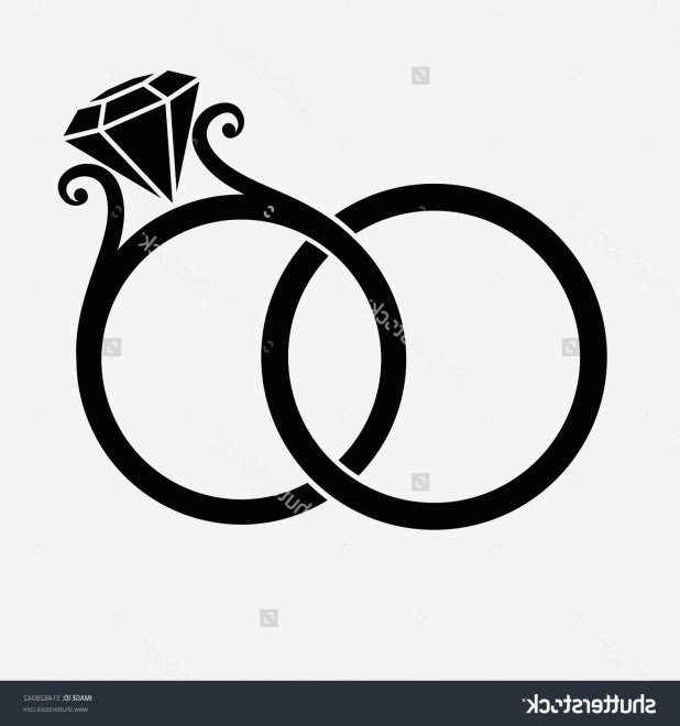 618x660 Engagement Ring Silhouette Most Useful Wedding Rings Clipart