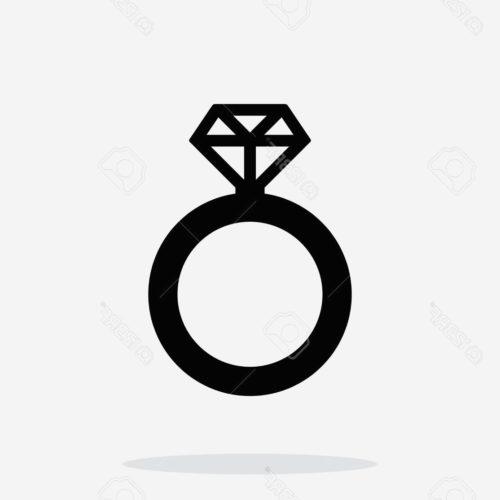 500x500 Diamond Ring Silhouette