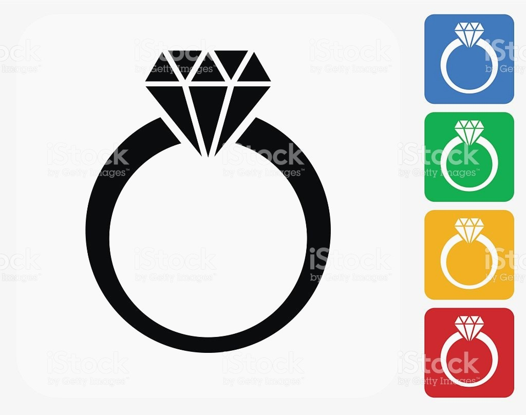 1024x808 Diamond Ring Silhouette Best Of Diamond Ring Icon Flat Graphic