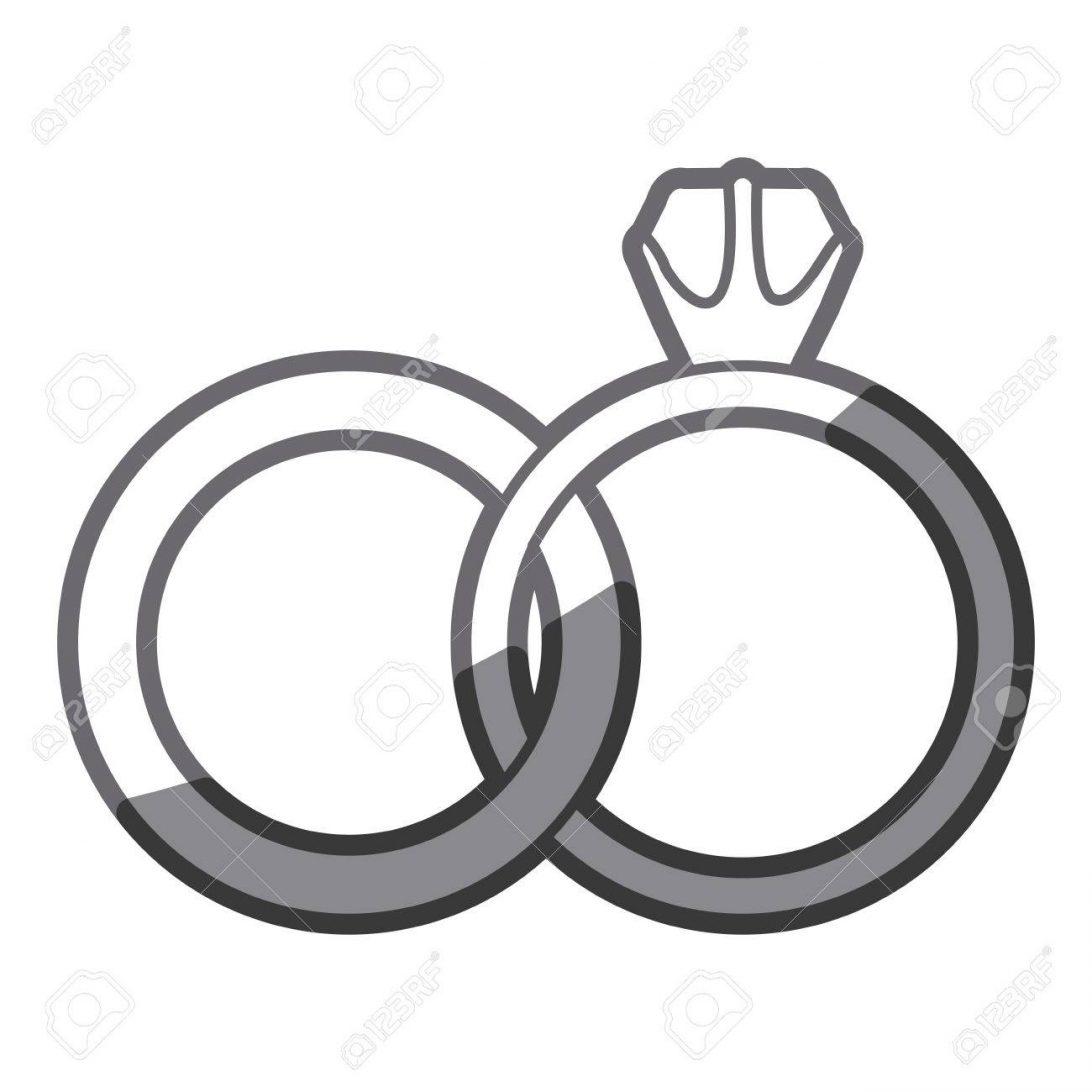 1092x1092 Wedding Ring Silhouette