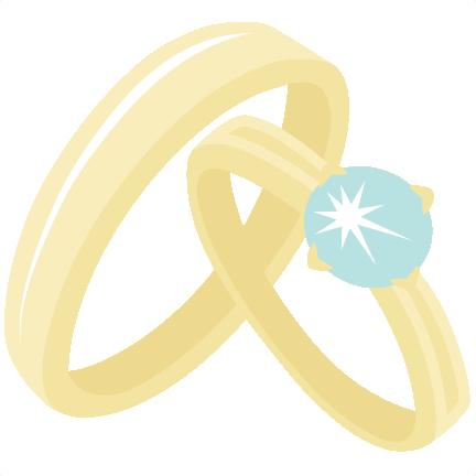 432x432 Wedding Rings Svg Scrapbook Cut File Cute Clipart Files