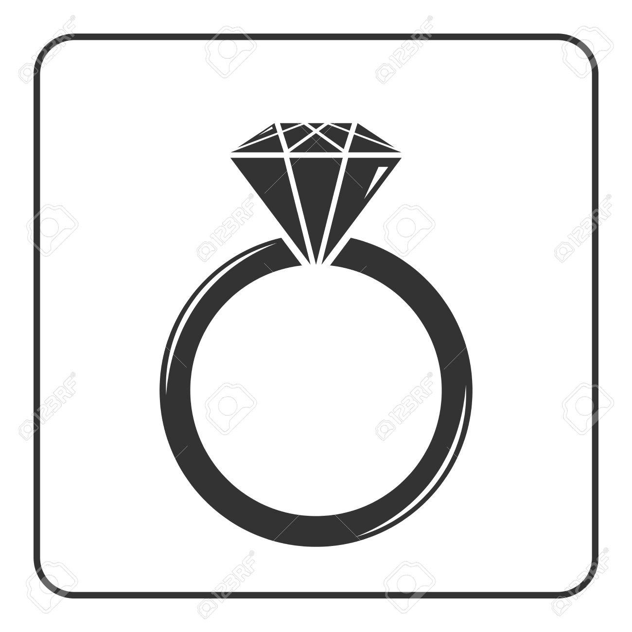 1300x1300 Wedding Ring Vector Wedding Ring Silhouette Botanicus Interactic