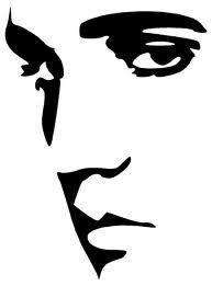 193x261 Elvis Face Wall Art Sticker Decal Stables Rip Fan Pop Art Present