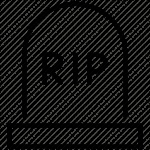512x512 Rip Skull Stop Tomb Icon