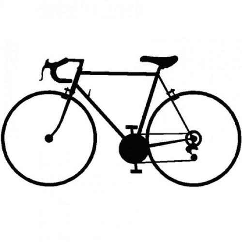 500x500 Bike Silhouette