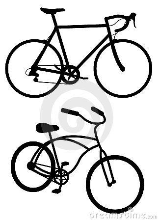 324x450 Road Bikes Clipart