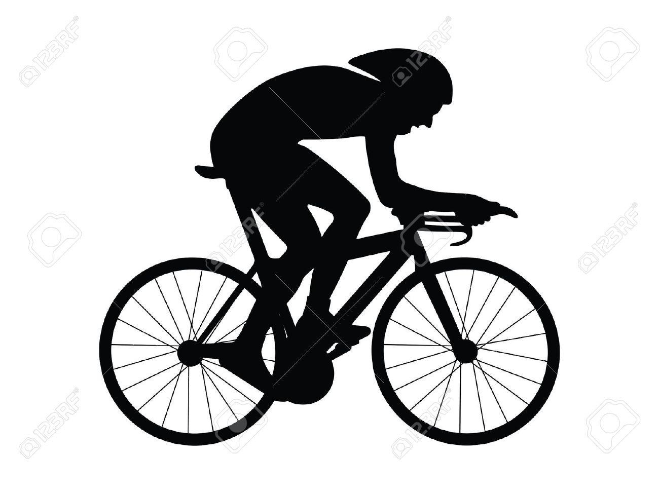 1300x975 Road Bike Silhouette Riding Bike