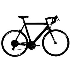 236x236 Bicycle Silhouette Stock Photo Colourbox Silhouette Images