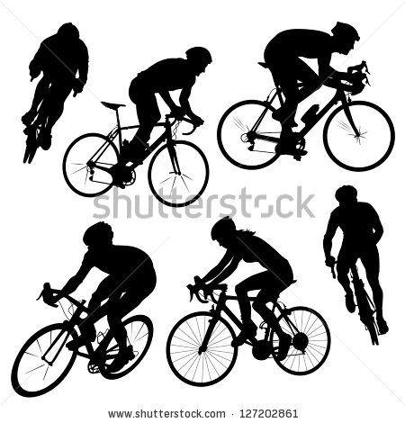 450x470 Bike Jump Vector Silhouettes Free Silhouette