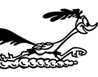 340x270 Road Runner Decal Etsy