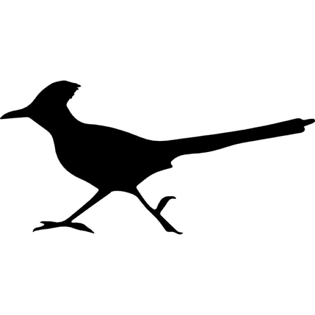 626x626 Bird Roadrunner Shape Icons Free Download