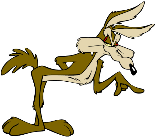 500x446 Wile Coyote Clipart
