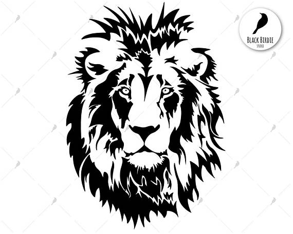 570x456 Lion Svg Cat Svg Lion Clipart Wild Svg Africa Svg African