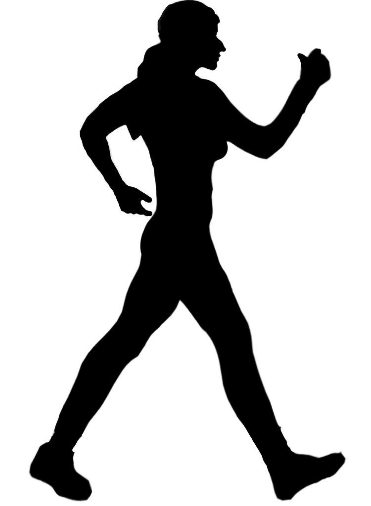 750x1024 Walking Silhouette Clip Art 2a Robin Hutton