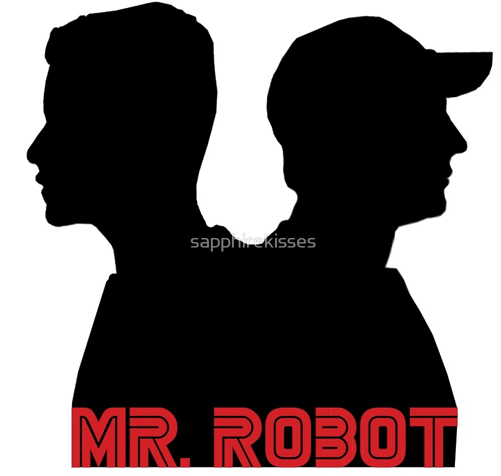 1000x950 Mr. Robot Silhouettes By Sapphirekisses Redbubble