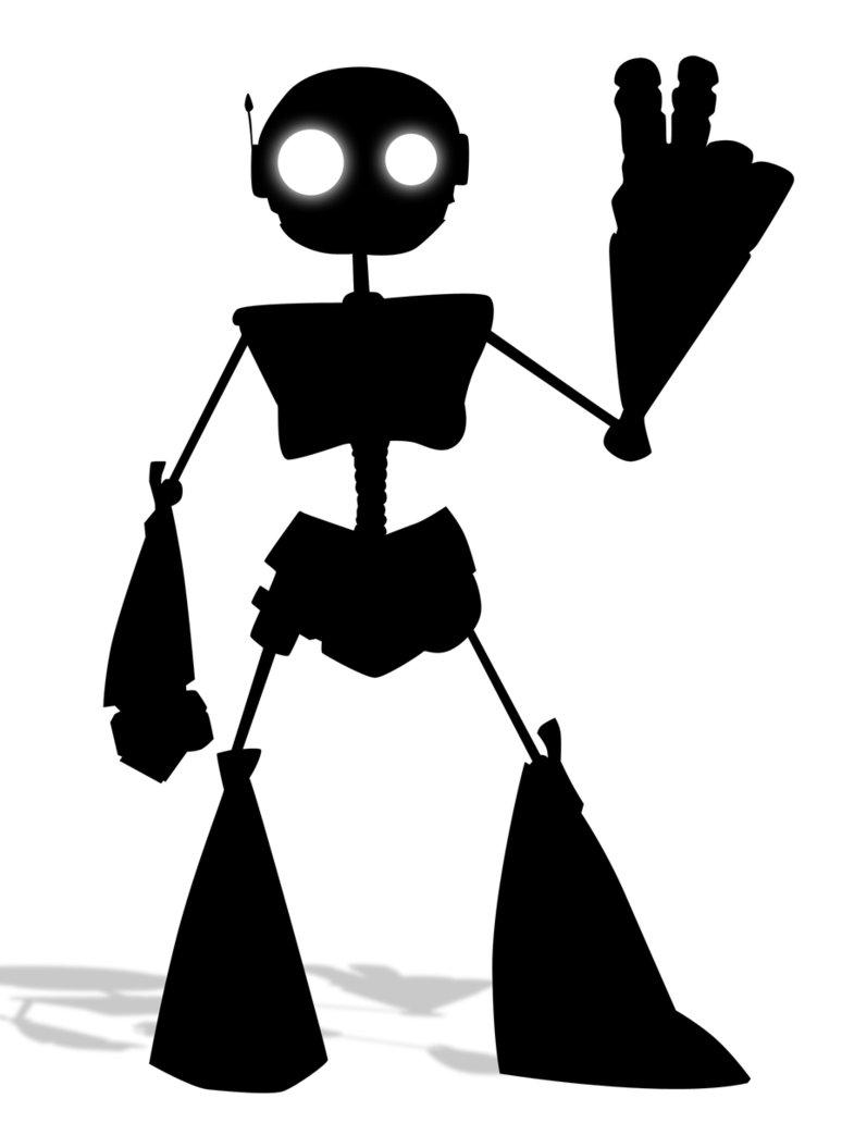 774x1032 Robot Silhouette By Kevatron400