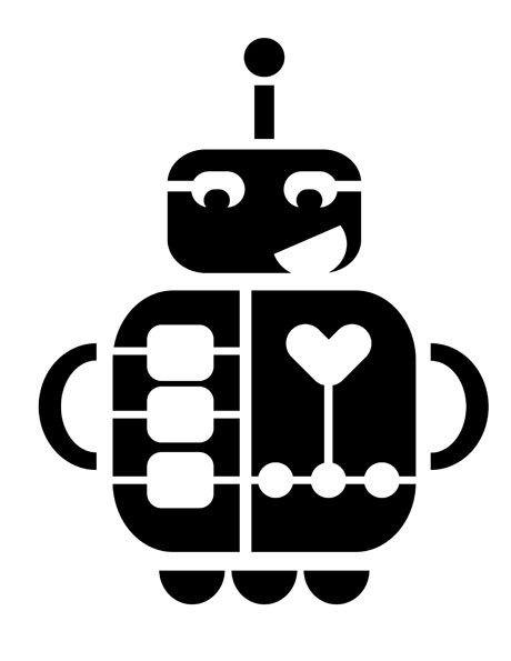 460x595 Robot Stencil 01 Preview Scan N Cut Ideas