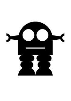 236x333 Silhouette Online Store Retro Robot