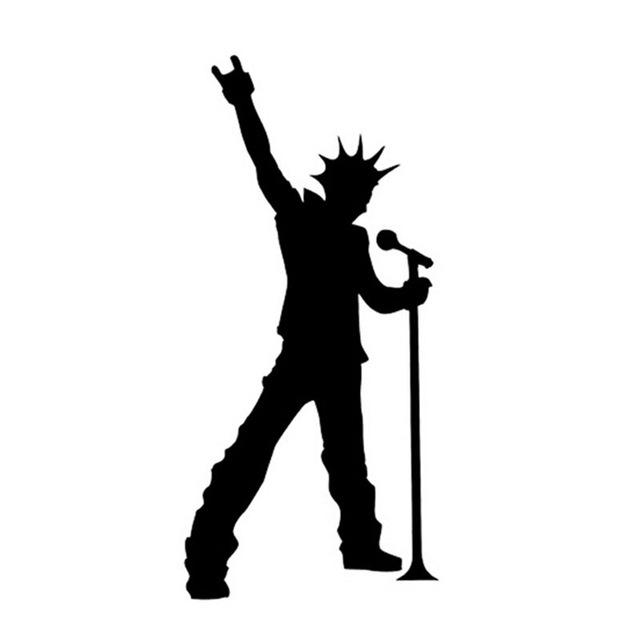 640x640 7.516cm Rock Band Music Singer Car Sticker Decals Fun Musical