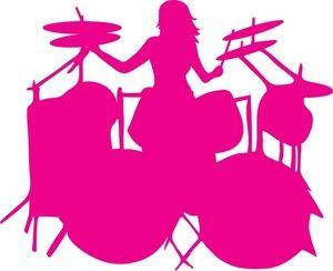 300x244 Drums Clipart Image