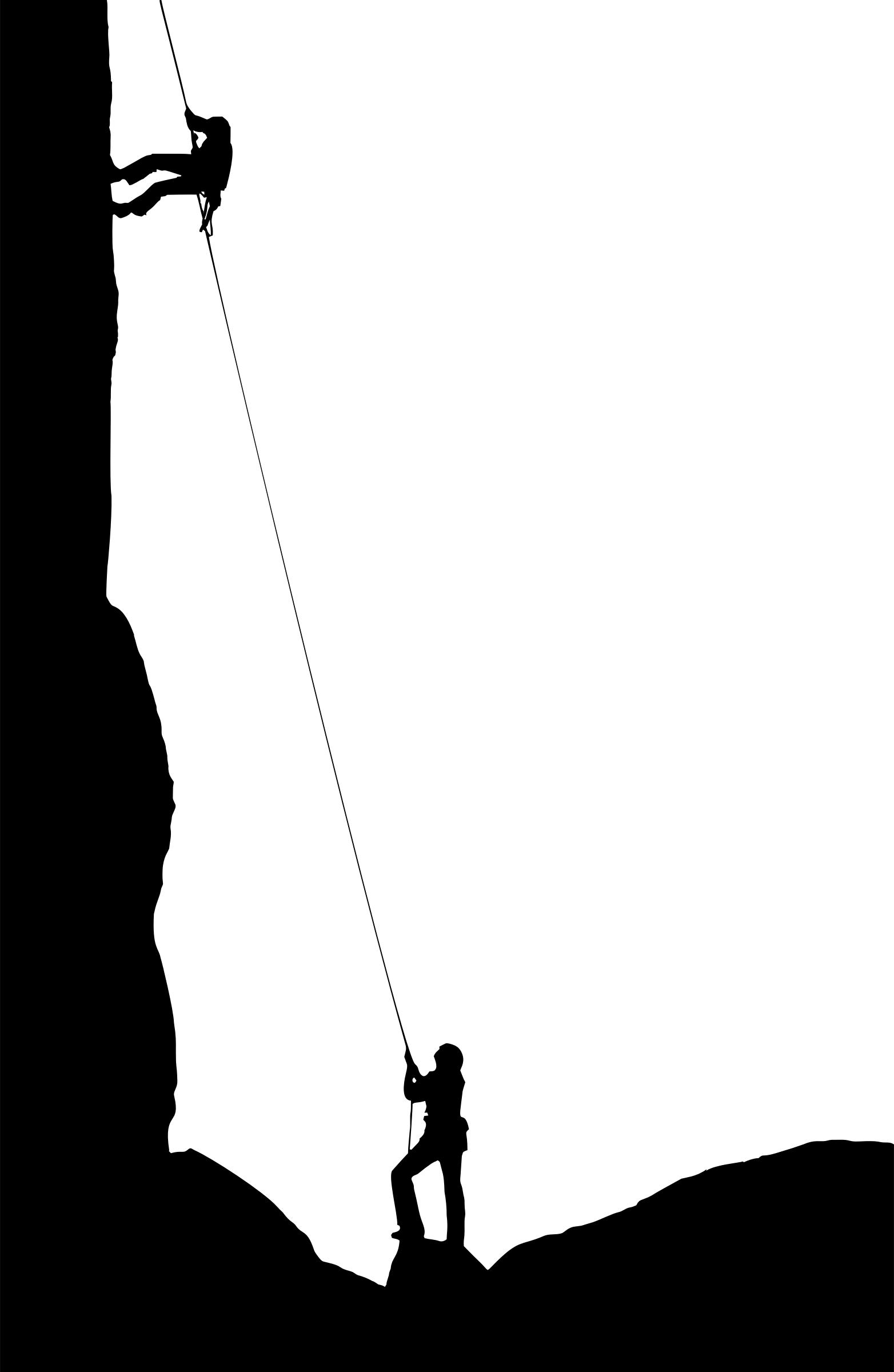 1564x2400 Rock Climbers Silhouette Icons Png