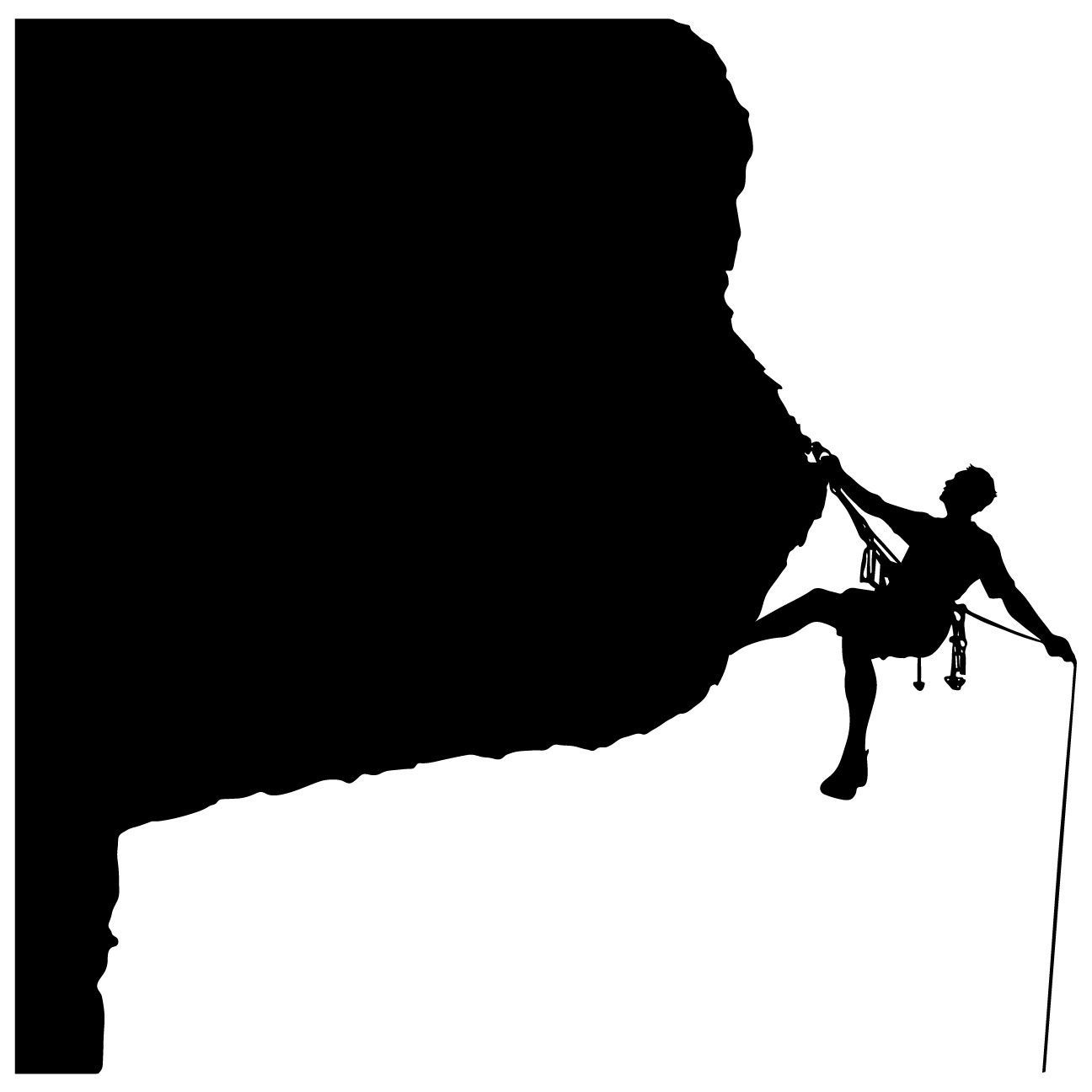 1296x1296 Rock Climbing Wall Decal Sticker 21 Rock Climbing, Wall Decal