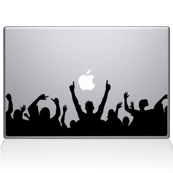 560x560 Rock On Crowd Macbook Decal The Decal Guru
