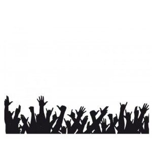 300x330 Buy All Hands Up,crowd,concert On Pepperfry Party Ideas