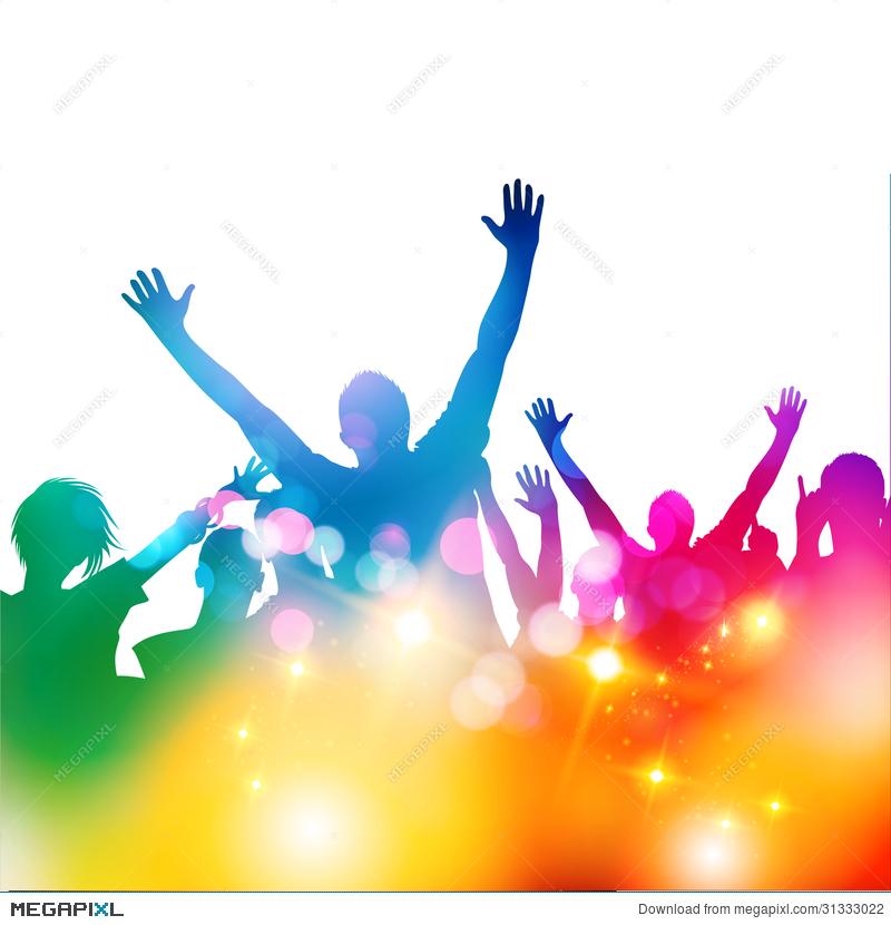 800x830 Concert Audience Vector Illustration 31333022