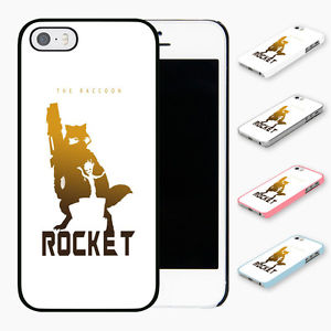 300x300 Rocket Raccoon Silhouette Hard Phone Case Cover Fits Iphone Models