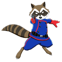 200x200 Download Rocket Raccoon Free Png Photo Images And Clipart Freepngimg