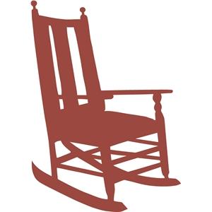 300x300 Rocking Chair Silhouette