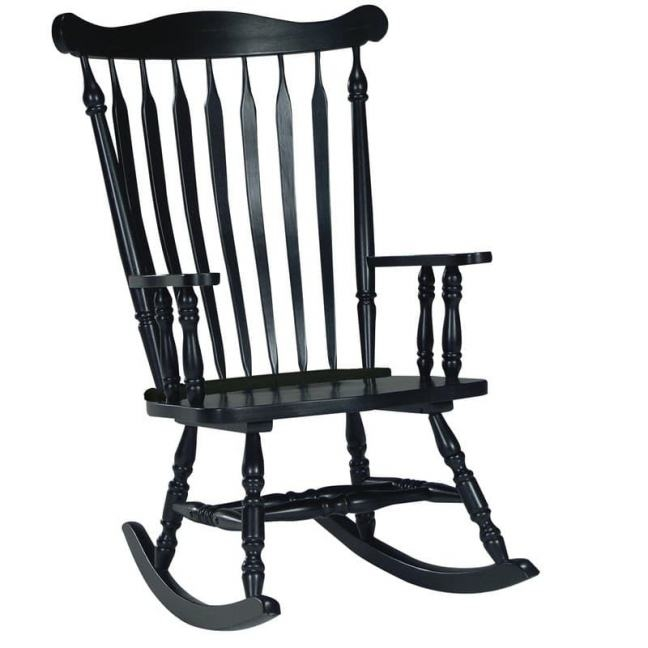 648x648 Rocking Chair Silhouette Penaime
