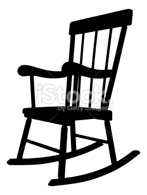 286x380 Rocking Chair Silhouette Rocking Chairs, Vector Art And Silhouettes
