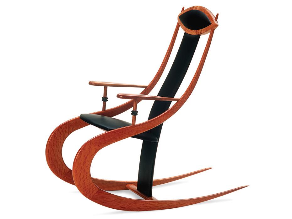 930x700 Roo Silhouette Rocking Chair Fine Furniture Design Fine Art