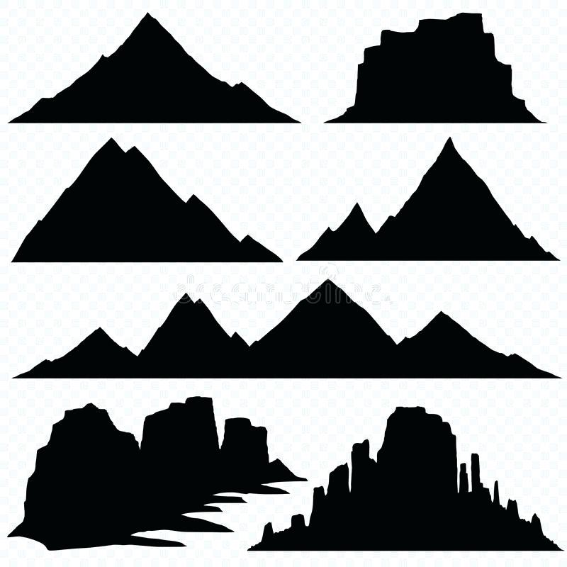 800x800 Mountain Silhouette Drawn Mountain Silhouette Mountain Silhouette