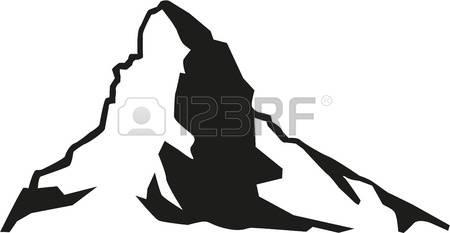 450x233 Alps Clipart Mountain Silhouette