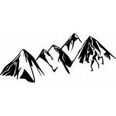 rocky mountains silhouette at getdrawings com free for personal rh getdrawings com
