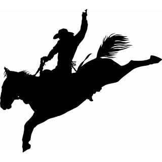 rodeo silhouette clip art at getdrawings com free for personal use rh getdrawings com  free rodeo clipart borders