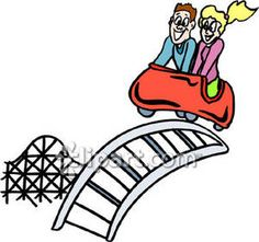 236x221 Roller Coaster, Carnival, Amusement Park, Wall Decal, Carnival