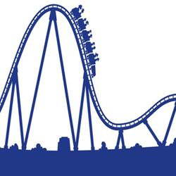 roller coaster silhouette at getdrawings com free for personal use rh getdrawings com roller coaster clipart png roller coaster clipart images free