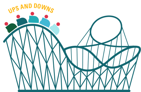 450x295 Roller Coaster Silhouette Png