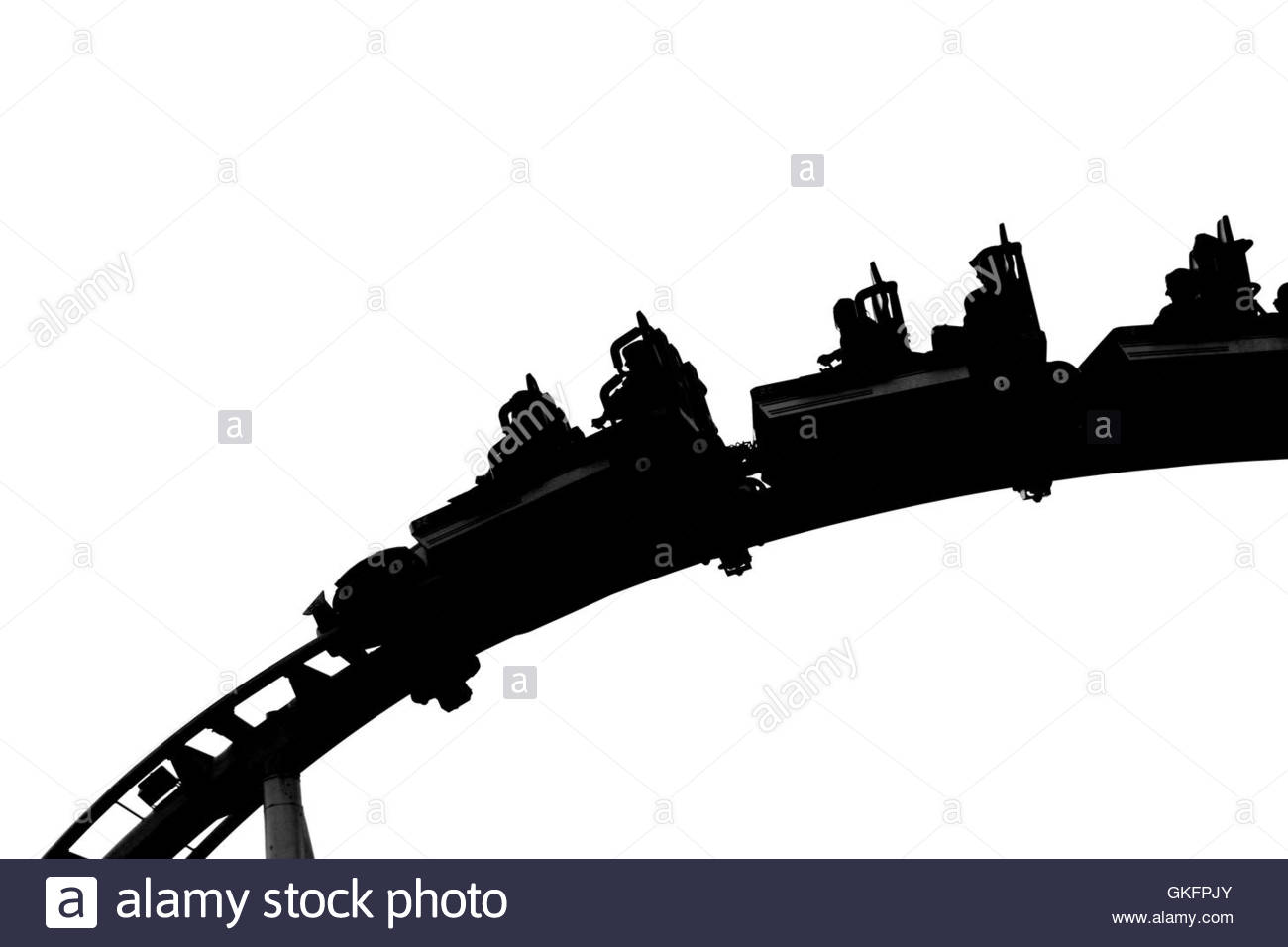 1300x956 Rollercoaster Black And White Stock Photos Amp Images